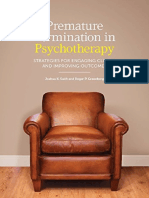 Premature Termination in Psychotherapy