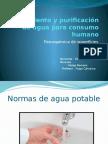 Tratamiento y Purificación de Agua Para Consumo Humano