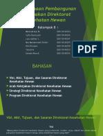Perencanaan Pembangunan Peternakan Direktorat Kesehatan Hewan