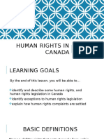 human rights and discrimination