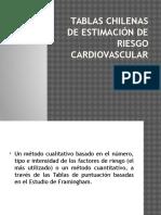 Tablas Chilenas de Estimación de Riesgo Cardiovascular (1)
