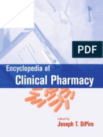 Encyclopedia of Clinical Pharmacy