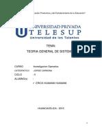 Investigacion Operativa TRABAJO