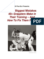 3 Biggest Mistakes - 40 Plus BJJ