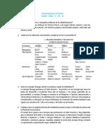 Sicosomatica Vitalista Cuestionario