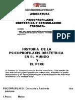 Historia Psicoprofilaxis