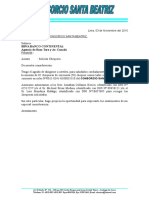 Carta N°007-2016 Solicid chequera