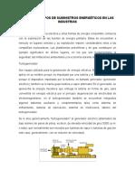 2. Diferentes Tipos de Suministros Energéticos en Las Industrias