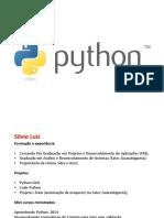 Minicurso Python 2016 Aula