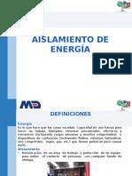 Aislamiento de Energia