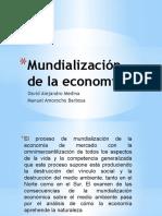 Mundialización de La Economía