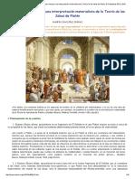 Andrés González Gómez, Apuntes Para Ensayar Una Interpretación Materialista de La Teoría de Las Ideas de Platón, El Catoblepas 95_12, 2010