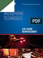 Microphone Techniques Live Sound Reinforcement SHURE .pdf