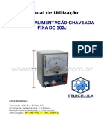 Manual 502j Fonte 5vdc Fixa PDF