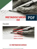 Metadiscursividade Slides(1)