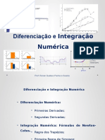 Diferenciação e Integração Numérica