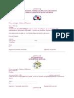 Contrat de Travail Annexe