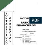 (3) Analisis Finnciero (Ratios)
