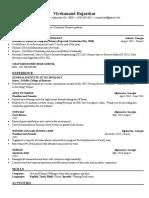 cs 1100 resume