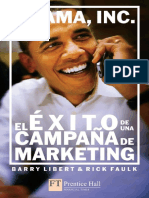 Obama, InC - El Éxito de Una Campaña de Marketing