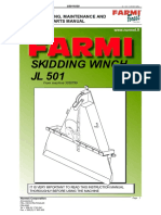 Farmi JL501 Manual