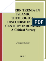 Fauzan Saleh Modern Trends in Islamic Theological Discourse in 20th Century Indonesia a Critical Study