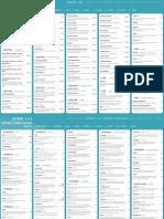 jQuery Visual Cheat Sheet 1.4.2