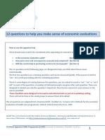 Economic Evaluastion