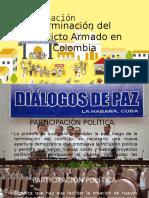 Terminación Del Conflicto Armado en Colombia
