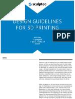 Sculpteo Design Guidelines