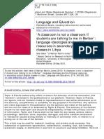 Language Ideology Martin Jones