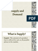 SS- Elements of Demand and Supply