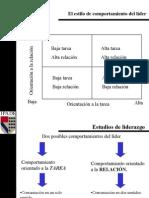 Liderazgo  y Grid administrativo (Blake-Mouton)