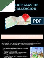 Estrategias de Localizacion