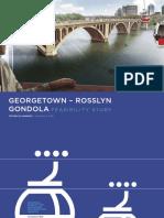 Georgetown-Rosslyn Gondola Feasibility Study