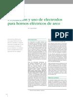 Avances Tecnológicos- Producción y Uso de Electrodos Para Hornos Eléctricos de Arco