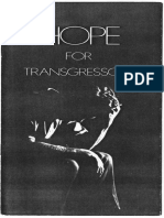 Hope for Transgressors