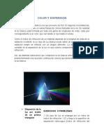 Color y Dispersión, Polarizacion