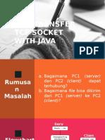 File Transfer Tcp Socket Menggunakan Java