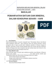 Makalah Pemanfaatan Batuan Dan Mineral Dalam Kehidupan Sehari