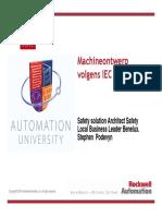 Important Machineontwerp Volgens IEC62061 AU-Belgium