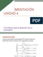4.3 Instrumentación
