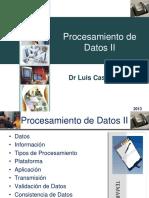 Procesamiento de Datos II Luis Castellanos