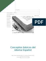 Conceptos Básicos del Idioma Español