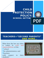 Child Protection Policy (Slide Presentation; CDT)