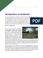 An Introduction of Aerodynamics