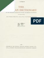 Dicionário Assírio N 1