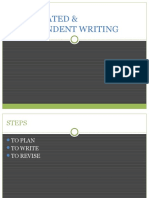 Integrated & Independent Writing