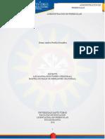 Portilla Grimaldos, Dennis Andrea. ADMINISTRACIÓN en PREESCOLAR. Guía de Aprendizaje 3