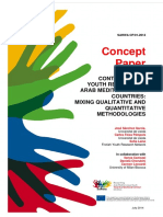 Concept Paper. Contemporary Youth Research in Arab Mediterranean Countries. Mixing qualitative and quantitative methodologies.pdf